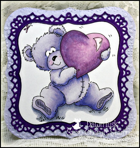 Sassy Cheryl's Stamps, Fun With Bears