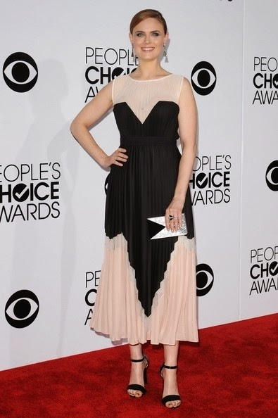 Emily Deschanel People s Choice Awards 2014