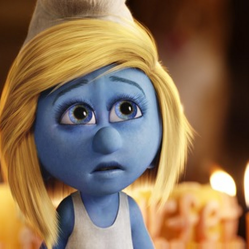 "Katy Perry Channels Smurfette in ""The Smurfs 2"""