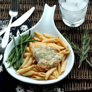 Sundried Tomato Herb Chicken & Pasta.