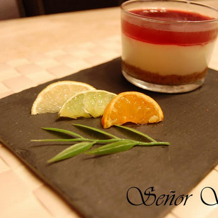 Red Berry Jam Cheesecake