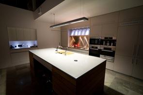 Cocina moderna Casa 24 Dane Design Australia