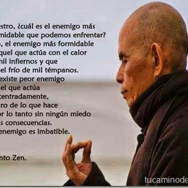 Enemigo formidable, cuento Zen
