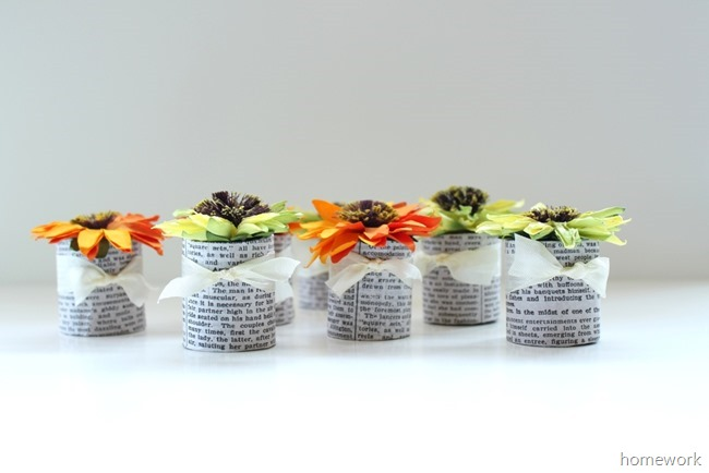Paper Flower Favors 2