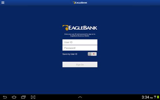 EagleBank Business for Tablet
