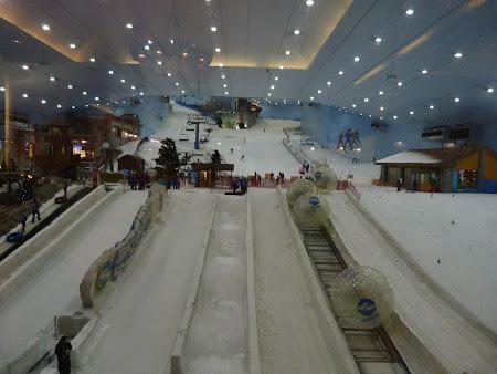 Partia de schi din Dubai