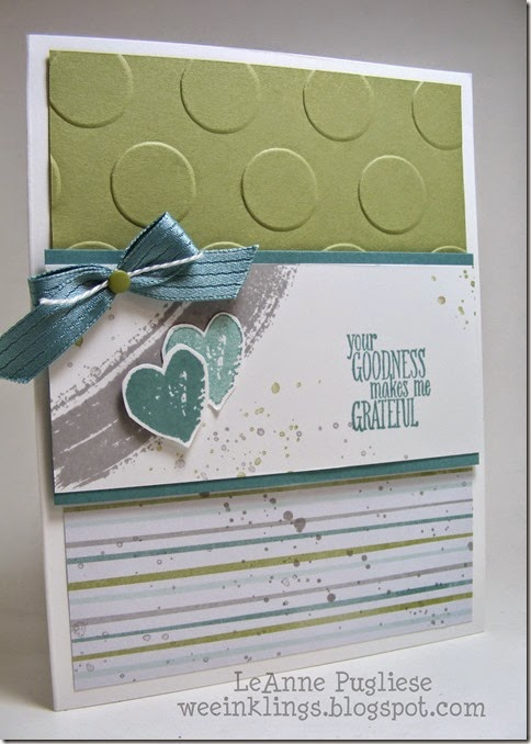 LeAnne Pugliese WeeInklings Something to Say Stampin Up Work of Art