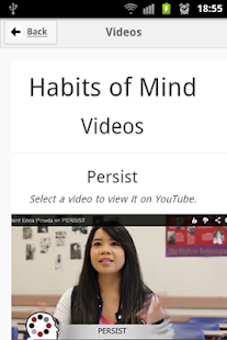 Habits of Mind at BC - screenshot thumbnail