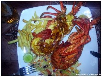 Из ресторанного меню. Шри-Ланка. Фото Холоденина А. www.timeteka.ru