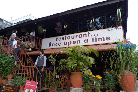 Restaurant Once Upon a Time Pokhara