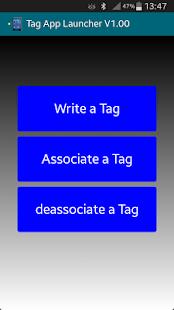 NFC Tag app launcher