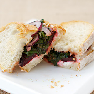 Roasted Beet and Goat Cheese Sandwiches Recipe