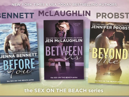 Cover Reveal: The Sex on the Beach Series + GIVEAWAY