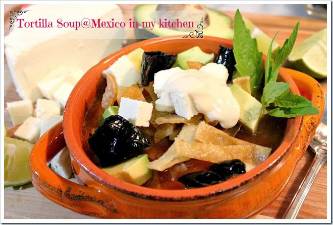 Tortilla Soup Recipe | Authentic Mexican Food Recipes