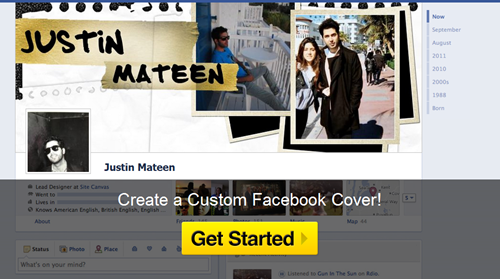 generate a Facebook Cover