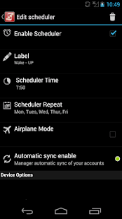 configureU Silence Scheduler- screenshot thumbnail