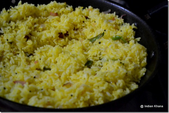 Easy lemon rice recipe south indian style