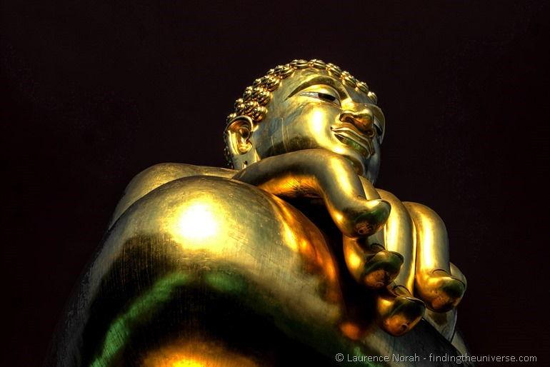 Golden buddha golden triangle