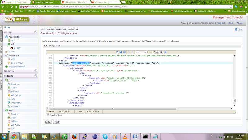 Adding header for APIs for WSO2 API Manger   Madhuka