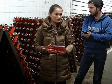 Basarabia - Drumul Vinului: Crama cu sampanie