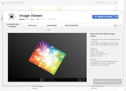 Image Viewer Extension