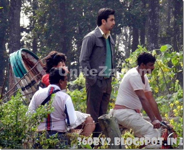 Ranbir Kapoor's Barfi Movie Shoot | 360BY2 - BLOG SPOT