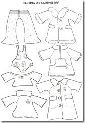 Teaching the Little Ones English : COLOUR CLOTHES AND