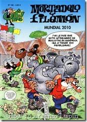 188 - Mortadelo y Filemón - Mundial 2010