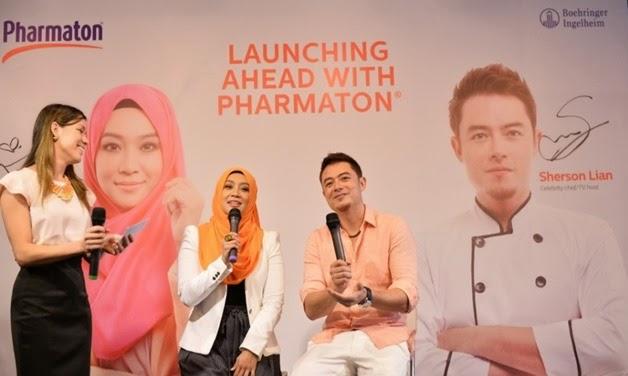Personaliti Terbaru Pharmaton®-Fara Fauzana & Sherson Lian