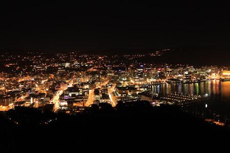 Obiective turistice Wellington: pe timpul noptii