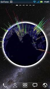 3D Globe Visualization