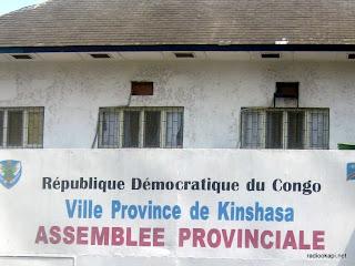 Siège de l'assemblée provinciale de Kinshasa