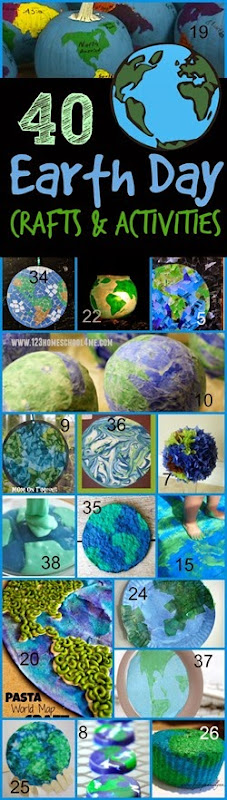 40 Earth Day Crafts and Kids Activities