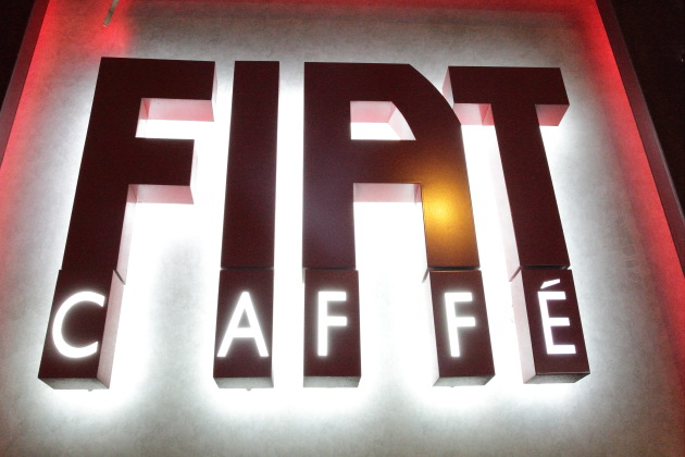 Fiat Cafe at Hong Kong