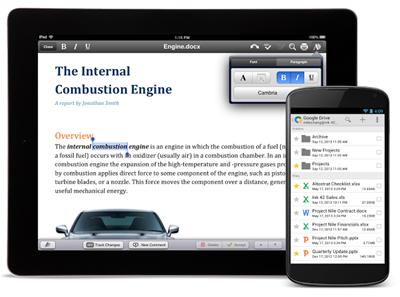 QuickOffice - Free Word Processor for iOS and Android
