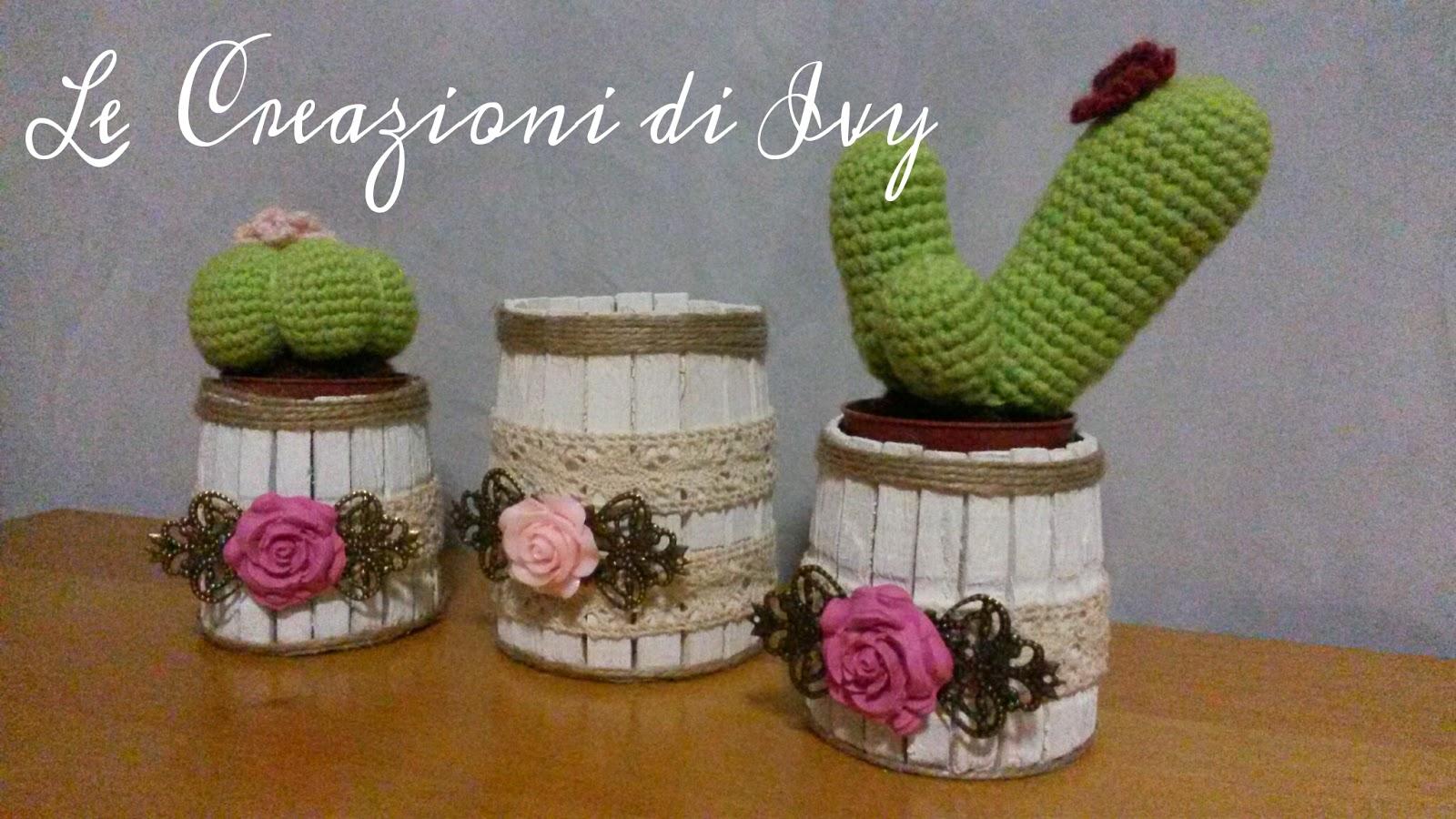 Le creazioni di ivy qualche idea per riciclare o for Creazioni per la casa