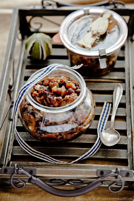 Quince Hazelnut and Cognac Mincemeat (0380) by Meeta K. Wolff