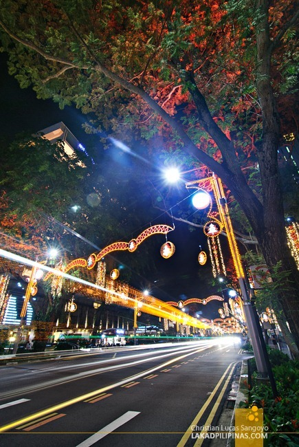 Christmas Lights at Singapore's Orchard Road
