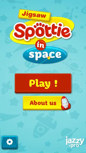 Spottie in space Jigsaw