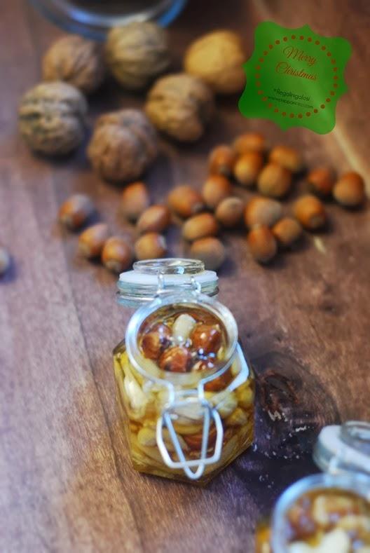 Frutta secca sotto miele1