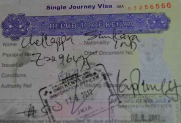 Kenya Visa on arrival