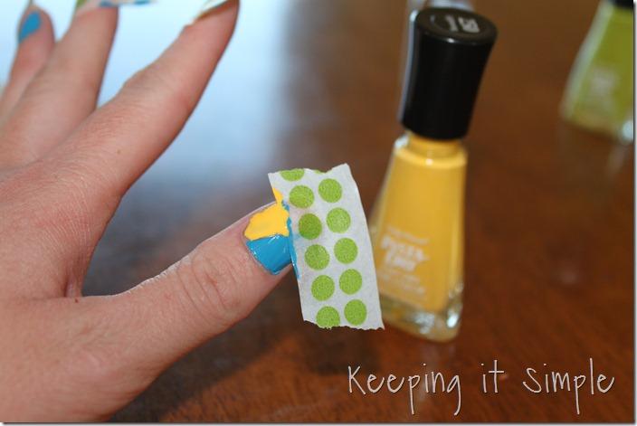 color blocking nails (10)