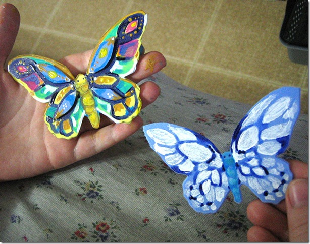 Karen-painted-butterflies