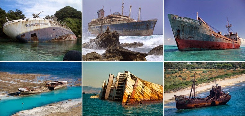 12 Famous Shipwrecks That You Can Still Visit | Amusing Planet