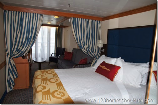 55 Reasons you will LOVE a Disney Cruise - huge staterooms
