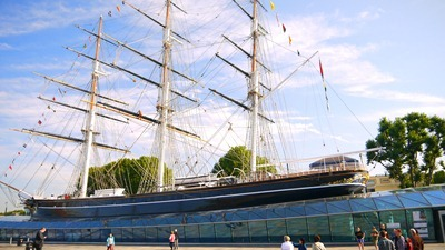 Views of the Cutty Sark