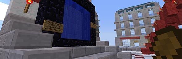Central de teleporte no servidor Heaven.