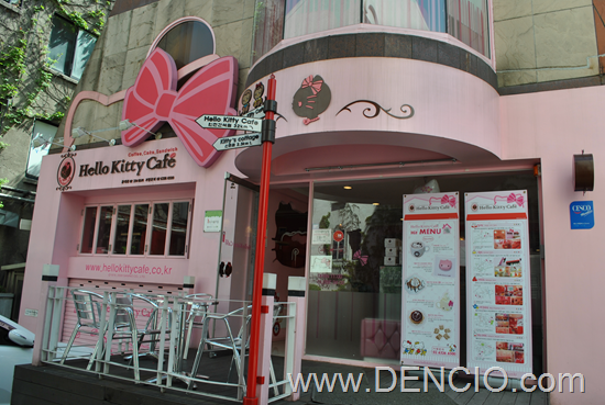Hello Kitty Cafe Seoul (Hongik University)