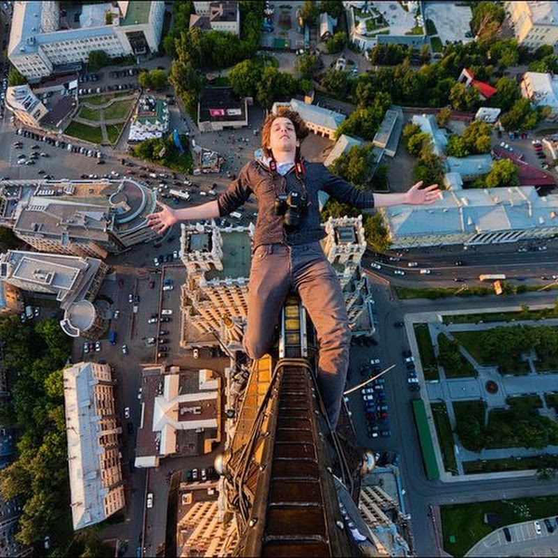 Skywalking in Russia