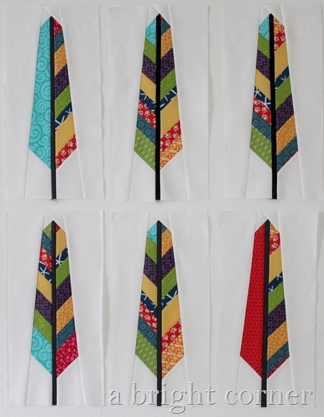 scrappy feather blocks